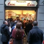 Photo taken at Luini Panzerotti by Elisabetta N. on 11/25/2012