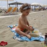 Photo taken at Spiaggia Libera by Davide M. on 6/8/2013