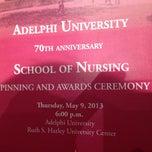 Photo taken at Adelphi University School Of Nursing by Allison on 5/9/2013