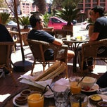 Photo taken at Grand Café de la Poste by Hammadi G. on 3/30/2013