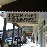 Photo taken at Julian Cafe & Bakery by Terry 🍀 G. on 3/13/2013