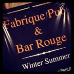 Photo taken at FabriQue & Bar Rouge by Chalermchatri Y. on 1/23/2014