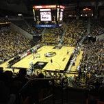 Photo taken at Mizzou Arena by Adam R. on 10/13/2012