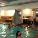 Photo taken at Holiday Inn Express and Suites by Eni Y. on 12/28/2013