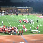 Photo taken at Redondo Union Football Stadium by Lennie A. on 10/13/2012