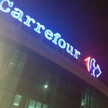 Photo taken at Carrefour by Cyntia on 1/5/2013