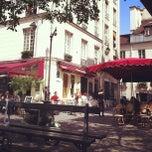 Photo taken at Place du Marché Sainte-Catherine by Richard A. on 5/2/2013