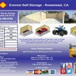 Photo taken at Everest Self Storage Rosemead by Everest Self Storage Rosemead on 2/15/2014