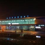 Photo taken at Международный аэропорт Омск-Центральный / Omsk Tsentralny International Airport (OMS) by Dennis P. on 3/16/2013