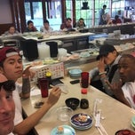 Photo taken at Marinepolis Sushi Land by Robert M. on 5/23/2015