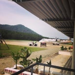 Photo taken at Redang Island Airport by Abby A. on 7/13/2014