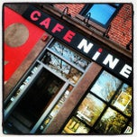 Photo taken at Cafe Nine by Richard B. on 4/25/2013