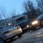 Photo taken at парковка by Lusha on 2/9/2013