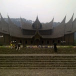 Photo taken at Istano Basa Pagaruyung by David R. on 9/25/2011