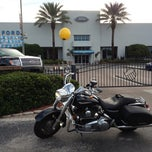 Photo taken at Bill Currie Ford (Show Room) by Kirk on 9/30/2012
