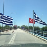 Photo taken at Greece Kipoi Border Station (Tελωνειο Kηπων) by Ferral on 6/21/2013