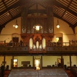 Photo taken at Pilgrim Congregational Church by Zack C. on 9/30/2012