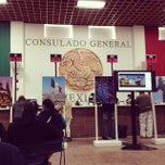 Photo taken at Consulado Mexicano by Rodolfo I. on 3/7/2014