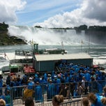 Photo taken at Maid Of The Mist - Canada entry by Kun Woo K. on 6/29/2013