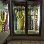 Photo taken at Cindy's Lei & Flower Shoppe by susieschmoozee on 10/16/2014