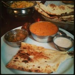 Photo taken at Kothur Indian Cuisine by Mary on 4/26/2013