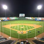 Photo taken at Knights Stadium by Tiffany W. on 4/20/2013