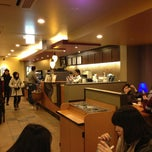 Photo taken at Starbucks Coffee クリスタ長堀店 by Theodore M. on 1/27/2013
