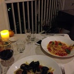 Photo taken at Hosteria il Pino by Martin T. on 10/3/2013