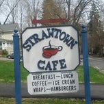 Photo taken at Strawtown Cafe by Sara K. on 4/18/2014