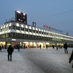 Photo taken at Автовокзал Щелково / Bus terminal Schyolkovo by Yulia F. on 1/29/2013