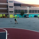 Photo taken at NYCSSC Kickball - Courts A & B by Cody B. on 7/24/2013