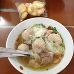 Photo taken at Bakso Mas Kumis by mell m. on 4/13/2013