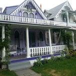 Photo taken at Martha's Vineyard Camp Meeting Association Cottages by Leena P. on 10/3/2014