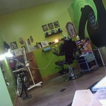 Photo taken at Good Times Tattoo Company by Trisha B. on 2/8/2013