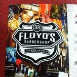 Photo taken at Floyd's 99 Barbershop by Anngelle on 11/30/2013