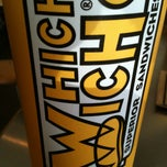Photo taken at Which Wich? Superior Sandwiches by Kelsey N. on 2/3/2013