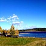 Photo taken at Särna Camping by Elenore O. on 9/27/2014