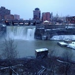 Photo taken at High Falls by Robert B. on 12/26/2012
