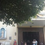 Photo taken at Santuario de San Pedro Bautista Parish by Chareth M. on 4/2/2015