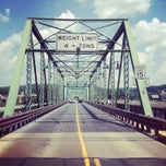 Photo taken at New Hope - Lambertville Route 202 Toll Bridge by Patrick M. on 7/18/2013
