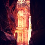 Photo taken at Petra البتراء by Ruslan on 4/2/2013