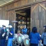 Photo taken at Sunce Winery by Jennifer V. on 1/20/2013