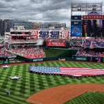 Photo taken at Nationals Park by John W. on 7/4/2013