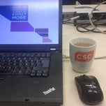 Photo taken at CSC Business Center Berlin by Alexander E. on 2/6/2013