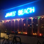 Photo taken at James' Beach by Angela on 11/8/2012