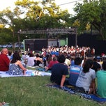 Photo taken at Beverly S. Sheffield Zilker Hillside Theater by Amelia on 6/8/2013
