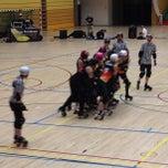 Photo taken at Sporthallen Zuid by Jerry K. on 7/13/2013