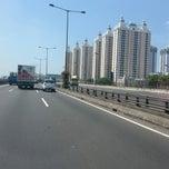 Photo taken at Jalan Tol Pelabuhan by Patrick C. on 8/23/2013