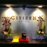 Photo taken at Citizen Hotel by herman c. on 5/1/2013