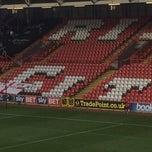 Photo taken at Ashton Gate Stadium by Jon A. on 12/7/2014